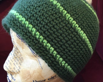 Dino Hat! - a crocheted hat