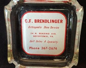 C.F. Brendlinger Advertising Ashtray