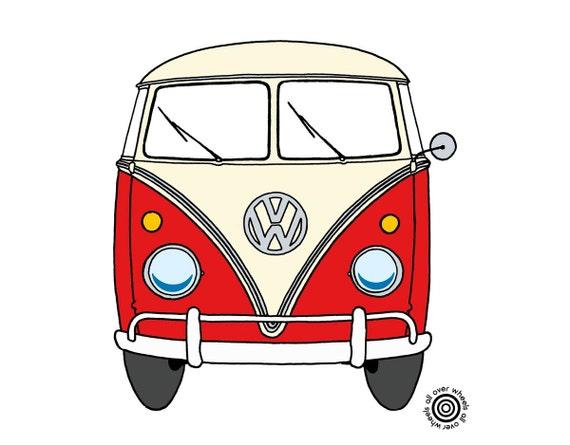 VW Bus T SHIRT Vintage Vw T1 Kombi Bus Samba By WheelsAllOver