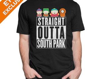 Parody Straight outta South park T-shirt