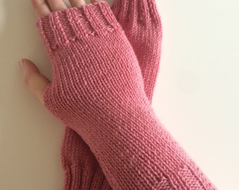 Light Pink Wrist Warmers