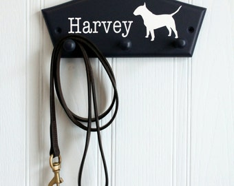 English Bull Terrier lead holder