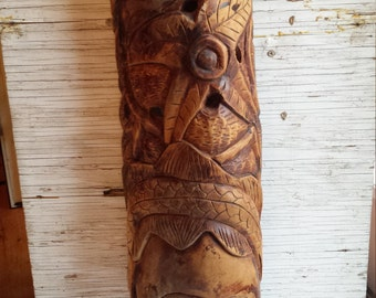 Vintage South American Indian Ritual Mask
