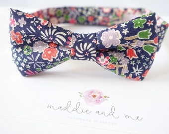 Liberty of London Velcro Baby Bowtie