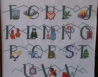 ABC alphabet Panel