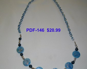 Necklace  PDF-146    Copyrighted item