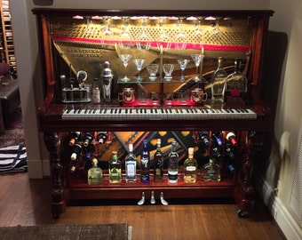 Repurposed Piano Etsy