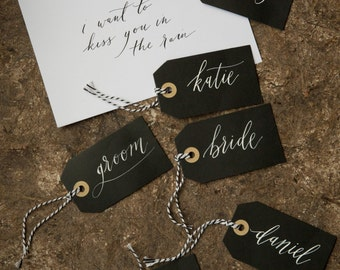 Modern Calligraphy Tags