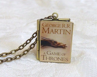 A Game of Thrones Story Locket