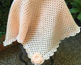 Crochet baby blanket, Baby blanket, car seat blanket, stroller blanket,Baby shower gift, granny square blanket
