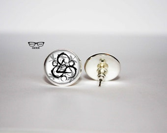 Coheed and Cambria post earrings, music stud earrings, Art Gifts, fan gift