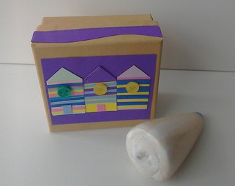 Beach hut gift box