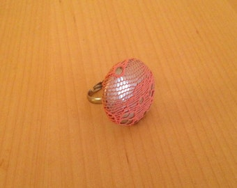 Ring lace pink