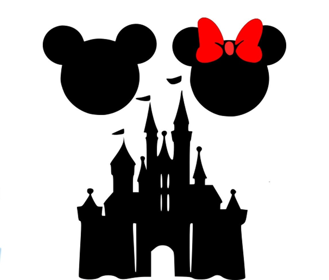 Room Designer Online Free Mickey Mouse Silhouette Cut On The Cameo Joy Studio