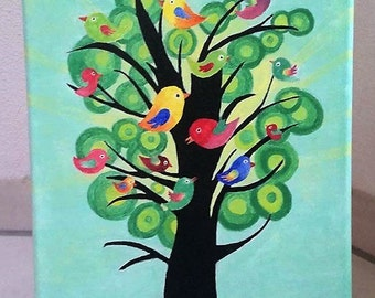 Birds in the Green