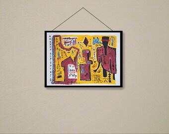 Vordol........ original acrylic painting abstract art