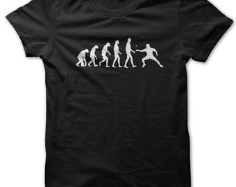 Evolution of a Ping Pong Player t-shirt