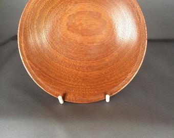 "5.1/4"" [13cm] Mahogany display dish"
