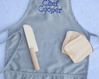 Personalized kids apron
