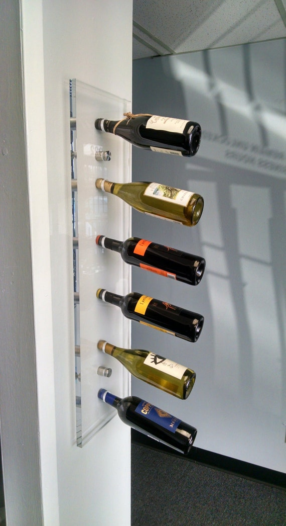 Acrylic Wine Rack Acrylic Furniture Wall Mounted Wine Rack