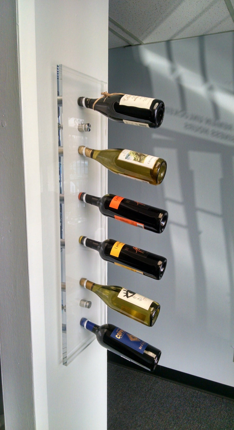 acrylic wine rack acrylic furniture wall mounted wine rack - 🔎zoom