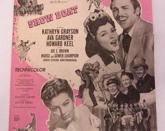 "Vintage 1951 ""Make Believe"" Sheet Music, Show Boat."