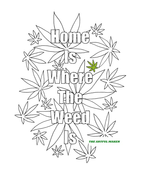 Weed eater colouring pages sketch coloring page for Marijuana coloring pages