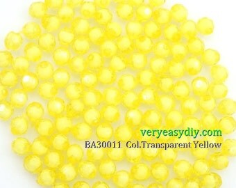 6mm Acrylic Bead of Round Faceted