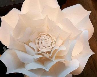 12 inch Paper flower
