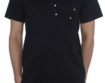 The Plough (the Big Dipper)T-Shirt - Star Constellation - Astronomy - Science Space Universe (plain dots)