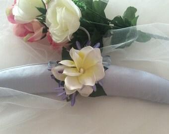 Silk Dress Hanger, Flower Girl Dress Hanger, Wedding Dress Hanger, Bridal Gown Hanger, Flower Girl