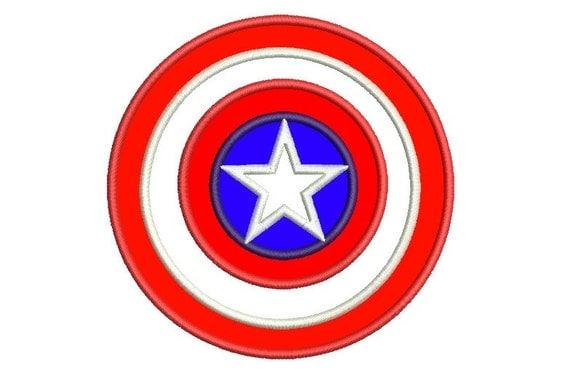 Captain America Applique Design Captain America By
