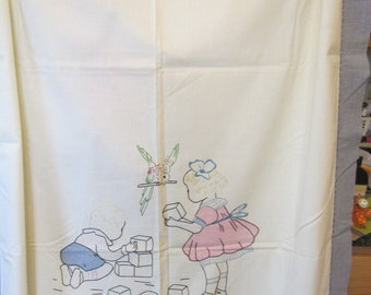 Summer Quilt or Coverlet for Child circa 1930
