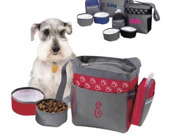 Embroidery Pet Accessory Bag 57304, Pet Bag, Personalized Pet Bag, Pet Travel Bag, Dog Bag, Personalized Dog Bag, Dog Travel Bag