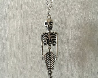 Skelemermaid Necklace