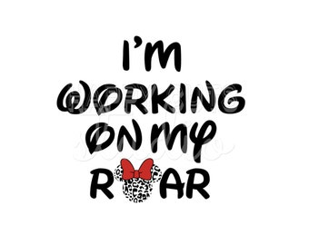 I'm working on My Roar Disney Animal Kingdom Cheetah Animal Print Safari Matching Kids Family Disney Iron On Decal Vinyl for Shirt 459