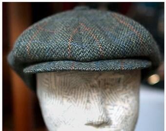 Barbisio Vintage-TWEED-GATSBY Cap (Coppola)