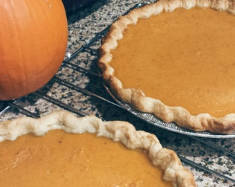 The Creamiest Pumpkin Pie Ever