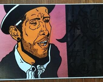 "Open Edition ""Izzatso"" Art Print"