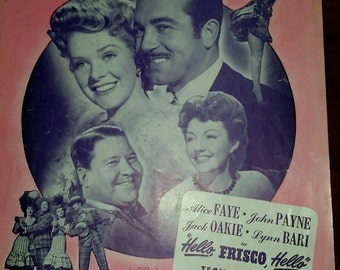 Vintage Sheet Music for You'll Never Know, 1943