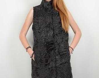 Real Swakara Fur Vest