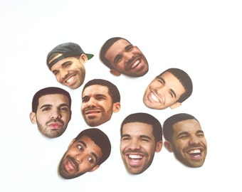 Drizzy Drake Emotions Sticker Set