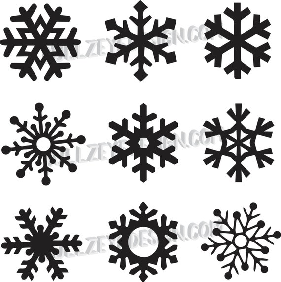 how to cut a simple snowflake