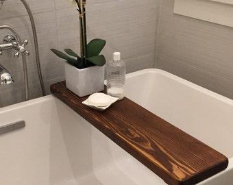 Customized Reclaimed Cedar Bath Board/Caddy