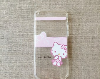 """Hello Kitty Clear Apple iPhone Case 6/6s 4.7"""" - Soft TPU Cases - #2"""