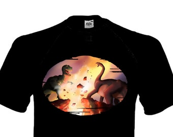 The Battle - Land Before Time inspired T-Shirt