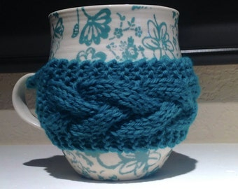 Cable Coffee Cup Cozy
