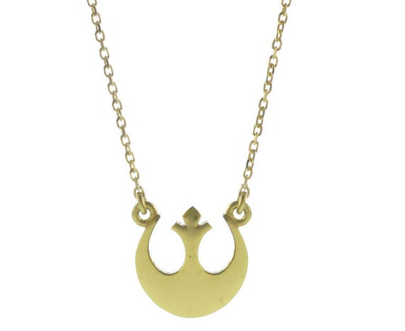 items similar to wars necklace rebel alliance