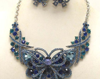 Victorian Crystal Necklace