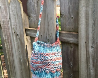 Knitted Bag, Market Bag, Knitted Purse